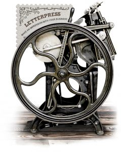 Lyme Bay Press - Letterpress Printing Press