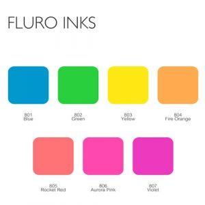 Letterpress Fluro Ink
