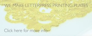 We make letterpress printing plates image